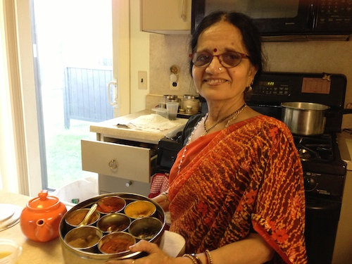 indian vegetarian cooking by Sunetra